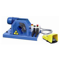 Electric hose skiving machine / bench-top