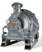 Liquid ring vacuum pump / lubricated / single-stage / air compressor