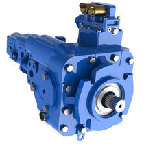 Hydraulic axial piston pump / variable-displacement / compact
