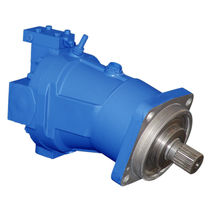 Axial piston hydraulic motor / variable-displacement / compact