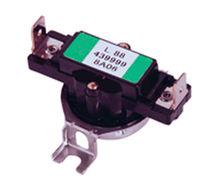 Bimetallic thermostat / fixed adjustment