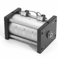 Pneumatic cylinder / double-acting / multi-piston
