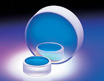 Optical mirror / round / fused silica / YAG laser