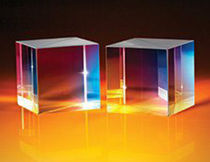High-energy beam splitter / cubic / polarizing