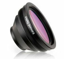 F-theta lens element / germanium / visible / scanning