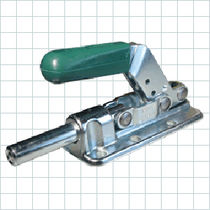 Straight-line toggle clamp / push-pull