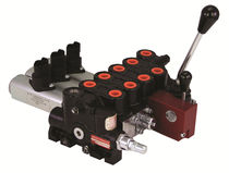 Spool hydraulic directional control valve / direct-operated / solenoid-operated / 4-way