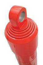 Hydraulic cylinder / telescopic / single-acting