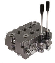 Spool hydraulic directional control valve / lever-operated