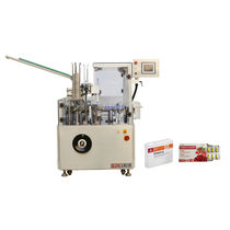 Top-loading cartoner / for the food industry / for blister packs / intermittent-motion