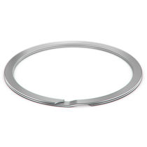 Metric retaining ring / for light-duty applications / spiral / for aerospace applications
