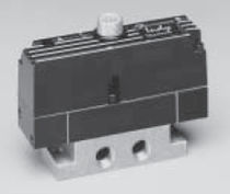 Solenoid-operated pneumatic directional control valve / 5/3-way / 5/2-way