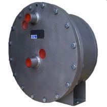 Air cooler / for samples / tubular