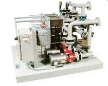Sample cooling water isolation skid
