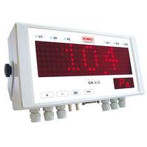 Dot-matrix displays / 17-segment / 3-digit / electronic