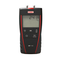 Digital pressure gauge / differential / electronic / calibration