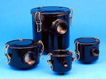 Liquid filter / cartridge / for vacuum pumps / industrial