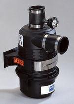 Vacuum filter / for liquid / for vacuum pumps / metal