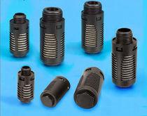 Exhaust silencer / for valves / plastic