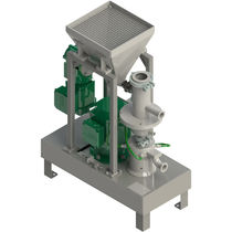 Food grinder granulator / for the pharmaceutical industry