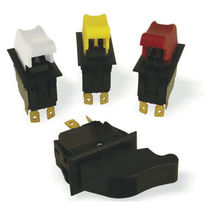 Rocker switch / single-pole / plug-in / electromechanical