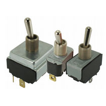 Lever switch / single-pole / AC / electromechanical