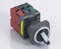 Illuminated push-button switch / momentary / electromechanical