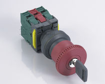 Mushroom push-button switch / emergency stop / electromechanical / IP67