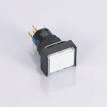 Spring push-button switch / single-pole / 2-pole / plastic