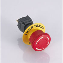 Twist-to-release switch / emergency stop / IP65