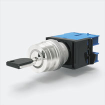 Key lock switch / selector / single-pole / LED