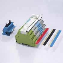 Electromechanical relay module / switching / DIN rail mounted