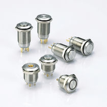 Single-pole push-button switch / stainless steel / electromechanical / waterproof