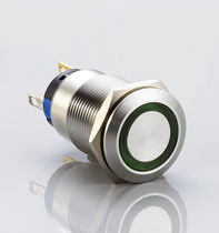 Single-pole push-button switch / standard / electromechanical / vandal-proof