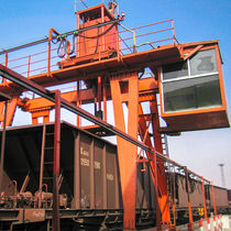 Mechanical sampler / bulk solids / automatic / for railways