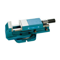 Machine tool vise / hydraulic / horizontal / high-pressure