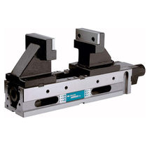 Machine tool vise / horizontal / high-pressure / 5-axis machining