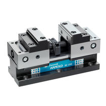 Machine tool vise / horizontal / self-centering / compact