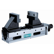 Machine tool vise / low-profile / 5-axis machining