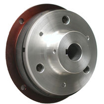 Friction clutch / disc / electromagnetic / through-bore