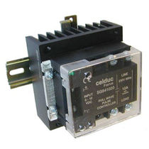 DIN rail solid state relay / single-phase