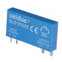 Miniature solid state relay / for printed circuit boards / single-phase