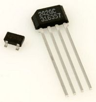 Hall effect proximity sensor / miniature / with analog output