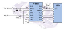 IC transceiver / LIN-bus