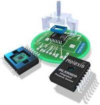 Relative pressure sensor / piezoresistive / digital / MEMS