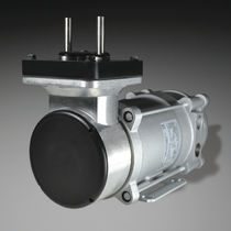 Diaphragm vacuum pump / oil-free / single-stage / chemical-resistant