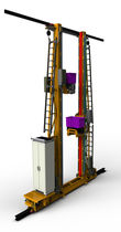Automatic stacker crane / for pallets / for storage systems