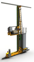 Vertical automatic storage system / pallet / for warehouses