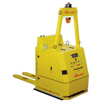 Electric forklift / AGV / for warehouses / handling
