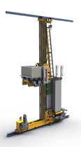 Warehouse stacker crane